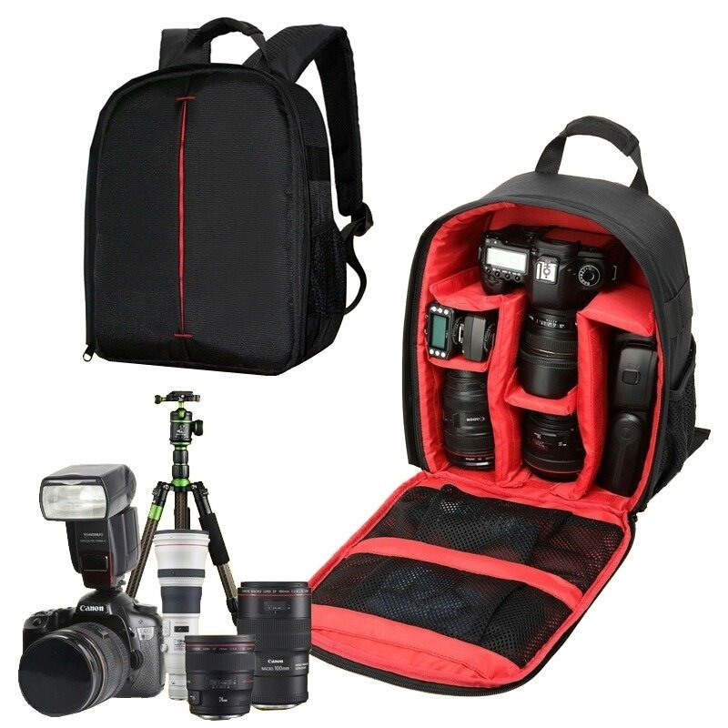 resistente réflex al bolso mochila Cargando para cámara agua notebook zoom qtZwSFx