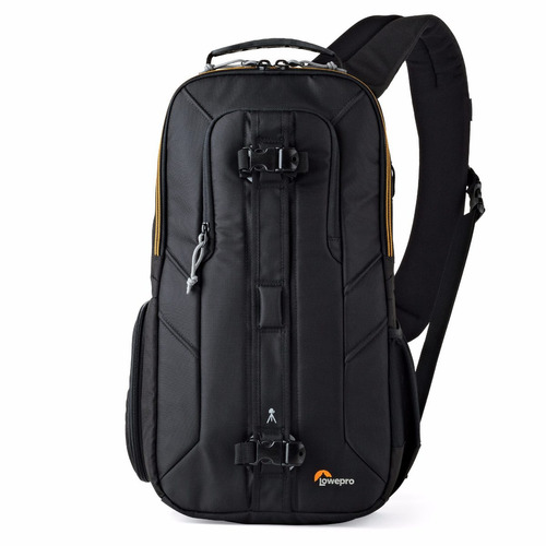mochila para cámara slingshot edge 250 aw blk lowepro negro
