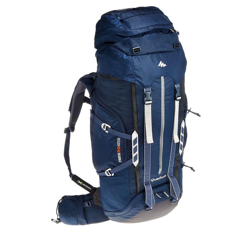 c09674537 mochila para camping symbium access 70+10 litros - quechua. Carregando zoom.