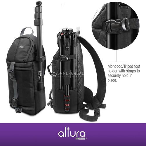mochila para càmaras reflex canon nikon sony con tienda