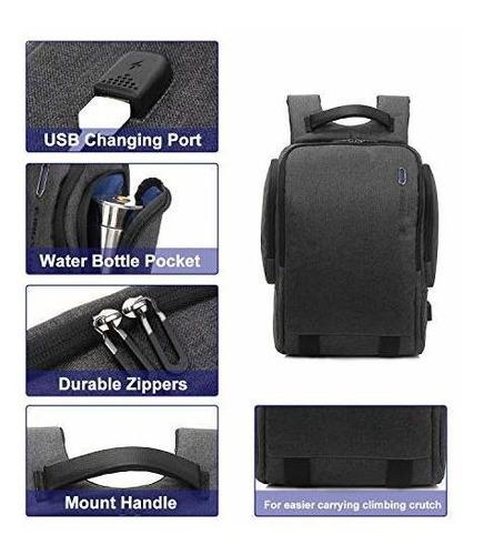 mochila para computadora portatil de viaje, mochila para com