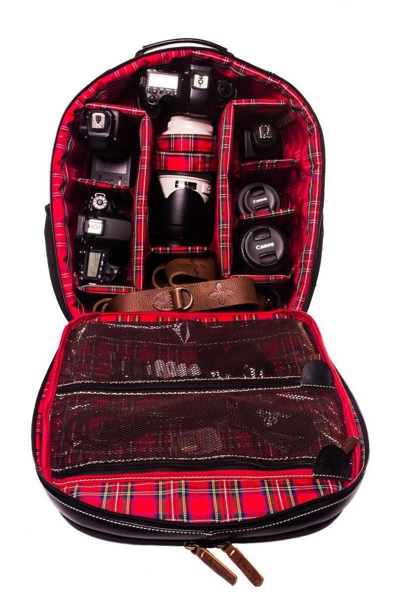 Mochila Para Fotografo Black Hold (unissex) - R$ 1.290,00