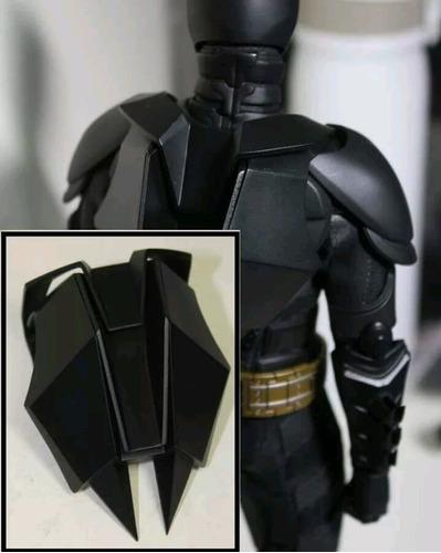 mochila para hot toys batman 1/6 the dark knight dc tdkr dx