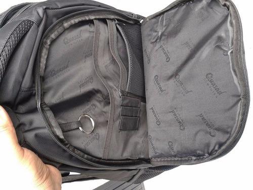 mochila para laptop quasad hasta 15.6   pulgadas negro