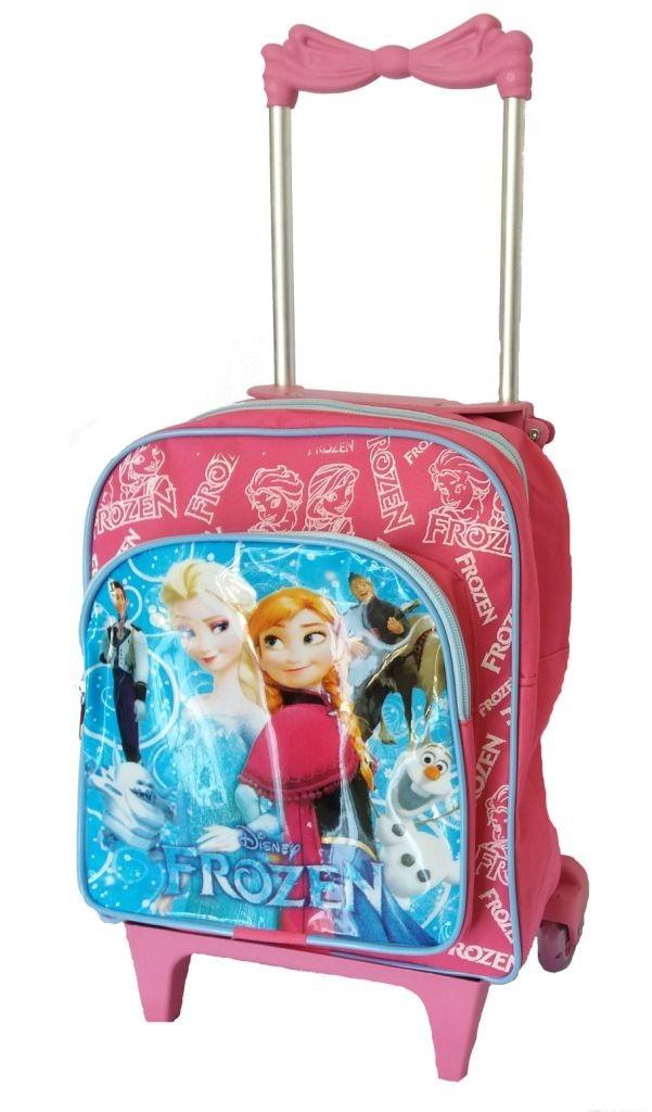 bf694a0f1 mochila para menina frozen infantil escolar rodinha feminina. Carregando  zoom.