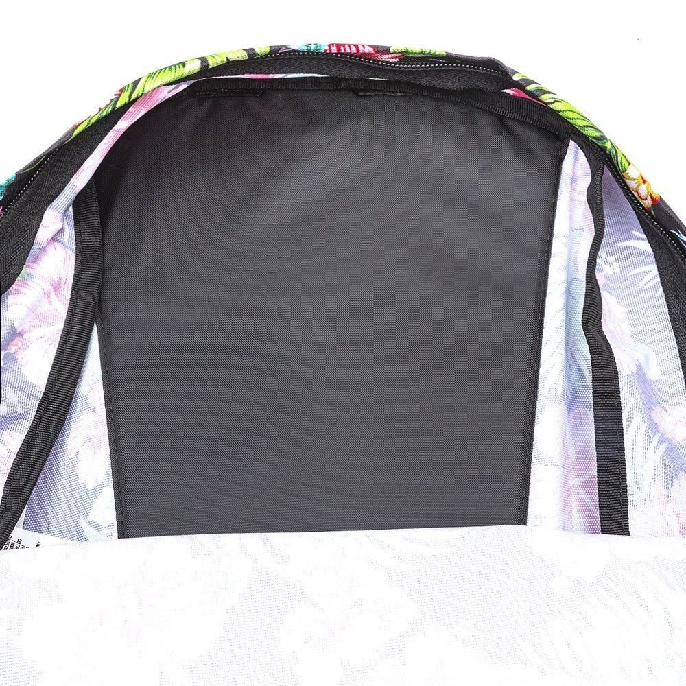 64a3332a03511 mochila para mujer vans realm talla única hawaiana negra. Cargando zoom.
