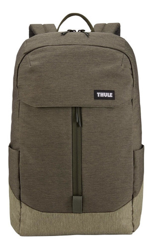 mochila para notebook lithos 20 l - forest night - thule