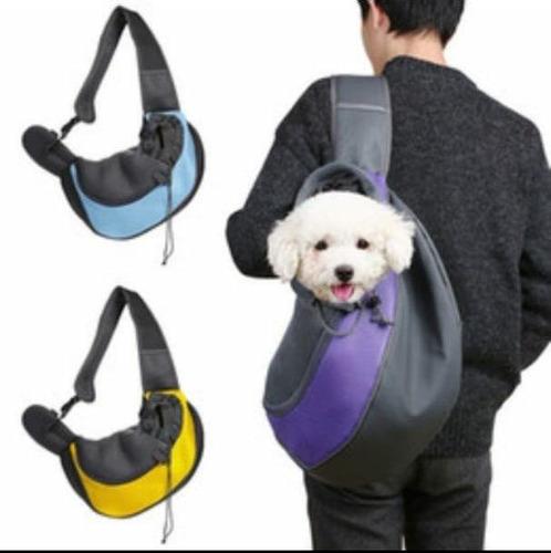 mochila para perros cruzada grande