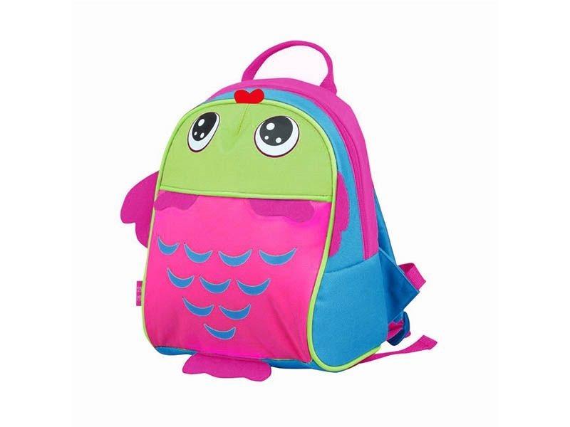 2229422f4 mochila passeio com alça peixe rosa - kababy - 16006p. Carregando zoom.