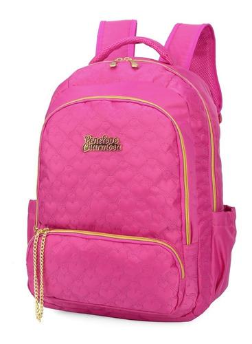 mochila penelope charmosa rosa -48527