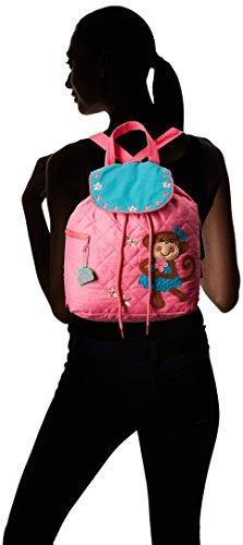 mochila pequeña acolchada stephen joseph girl, mono