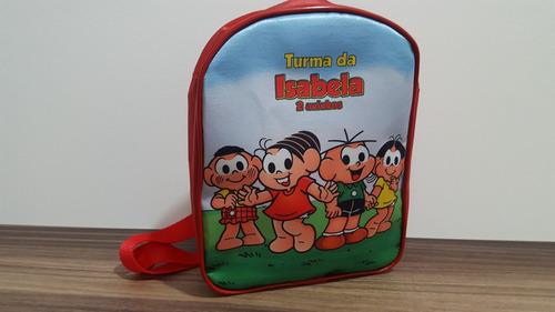 mochila personalizada turma da monica