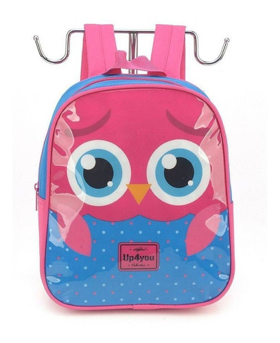 mochila petit up4you coruja luxcel - 32601