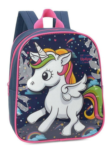 mochila petit up4you unicornio  luxcel - 32609