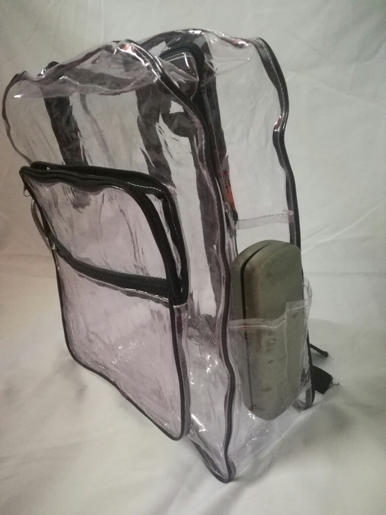 7e2c14cf0 mochila plastico transparente moda pastel goth rock retro 90. Cargando zoom.