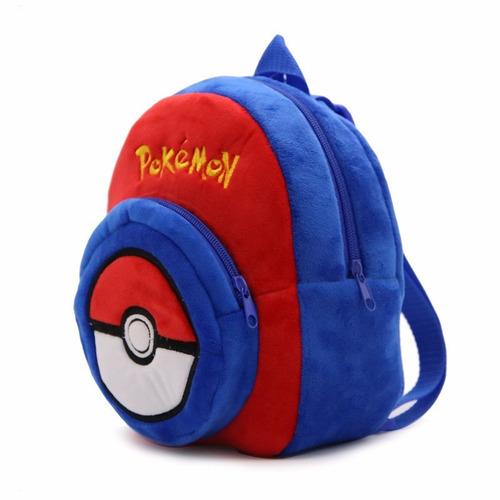 mochila pokebola para niños pequeños