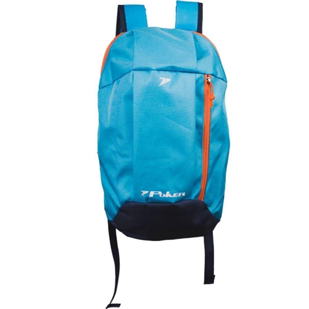 c54a54e96 mochila poker multi esportiva azul claro escolar. Carregando zoom.