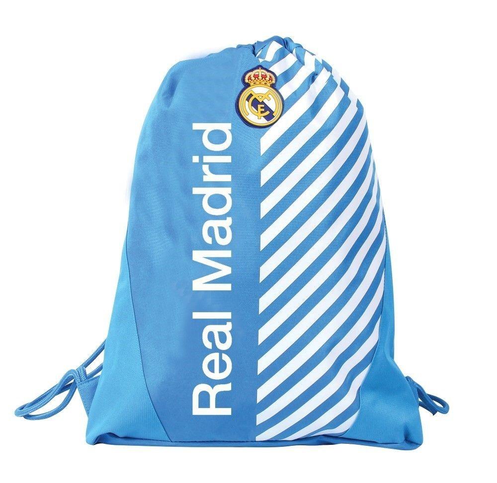 b948c0163 Mochila Poliéster De Costas Tipo Saco Real Madrid 49210 - Dm - R$ 58 ...