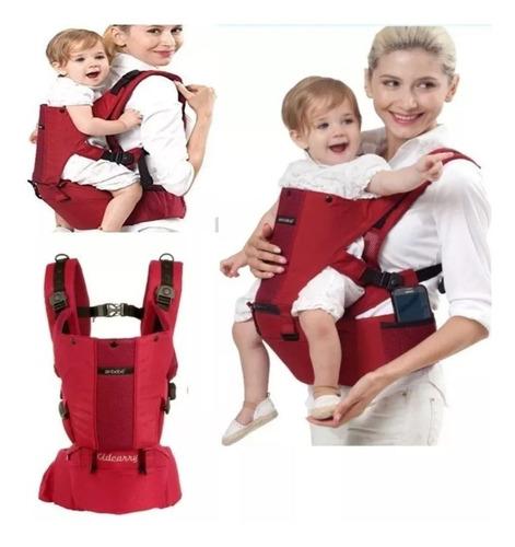 mochila porta bebe carrier 3 posiciones hasta 20 kilos