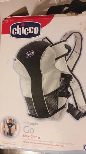 mochila porta bebé chicco marsupio go