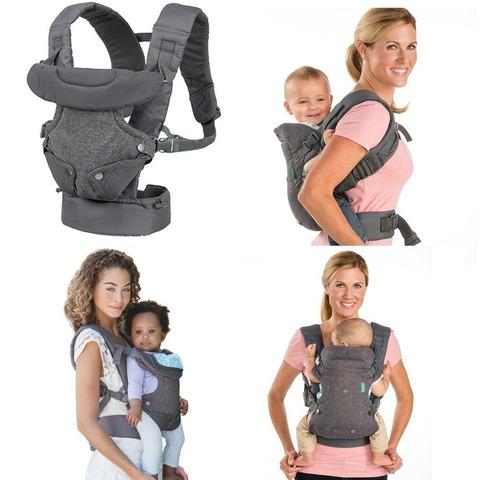 mochila porta bebe ergonomico infantino flip hasta 14.5 kg