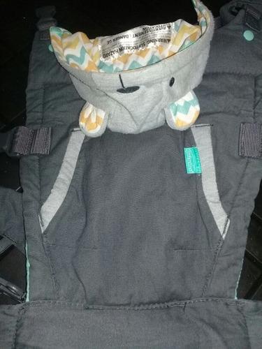 mochila porta bebe infantino