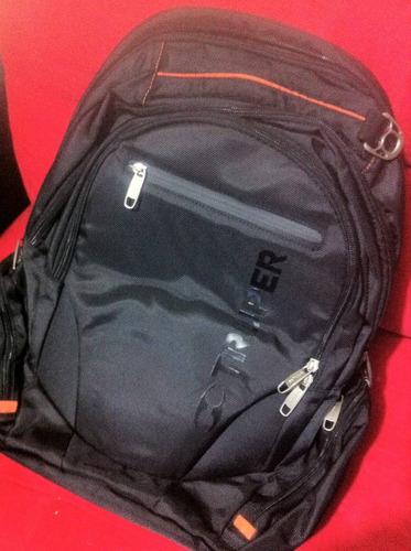 mochila porta lap top multiusos
