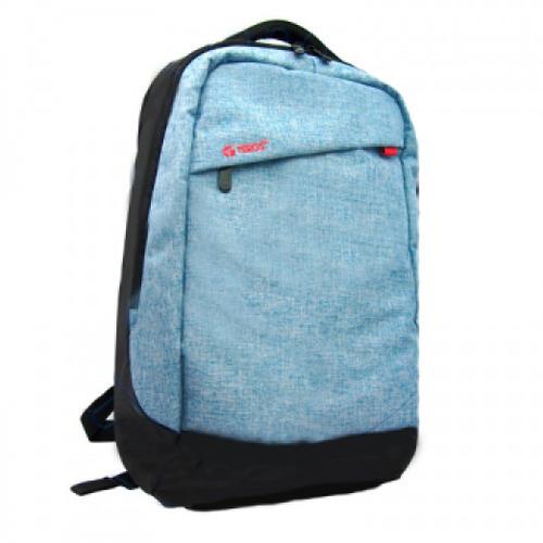 mochila porta laptops 15.6 teros - acolchada azul claro