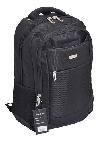 mochila porta notebook acolchada puerto usb hasta 17