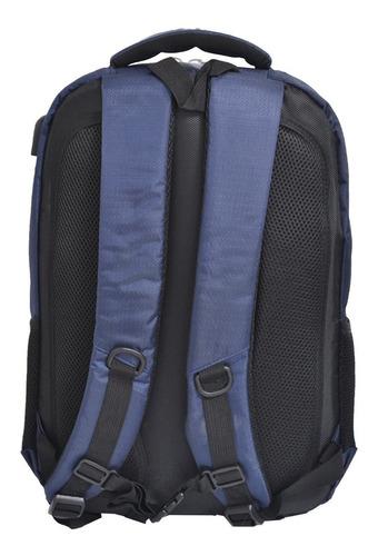 mochila porta notebook usb urbana grande reforzada tablet
