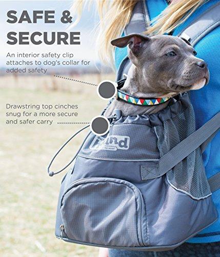 mochila porta perro outward hound kyjen talla s