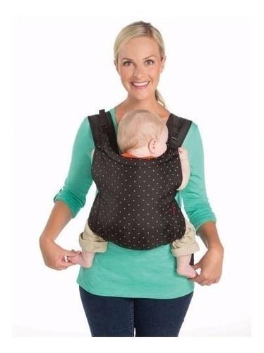 mochila portabebes zip travel carrier infantino 5,5kg a 18kg