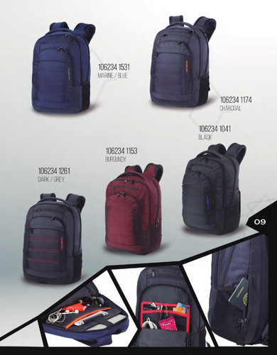 mochila portanotebook samsonite titan 2018  15,6   garantía