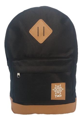 mochila portanotebook universitaria escolar impermeable