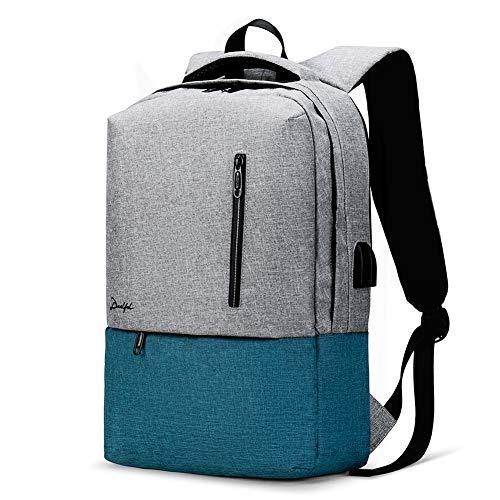 mochila portatil a prueba de agua con el puerto de carga usb