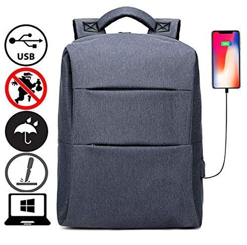 mochila portátil viaje 17 inch antideslizante delgada mujere