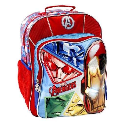 mochila primaria red avengers marvel
