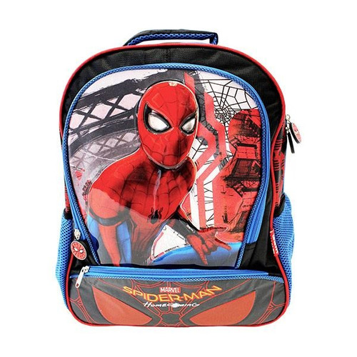 mochila primaria spider-man home coming marvel