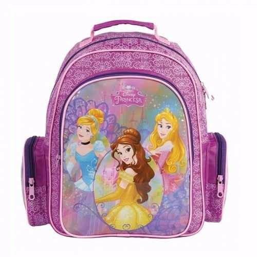 mochila princesas cinderela/ bella/ aurora dermiwil- 37208
