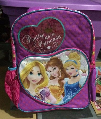 mochila princesas disney  backpack  primaria  y estuchera