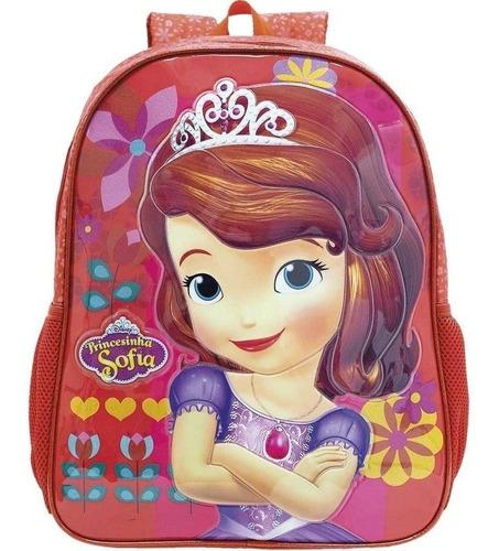 mochila princesinha sofia m - 8613