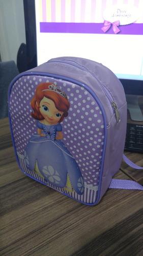 mochila príncipe e princesa