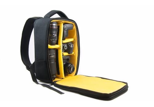 mochila profissional crazy fuzy para câmera e acessórios!!!