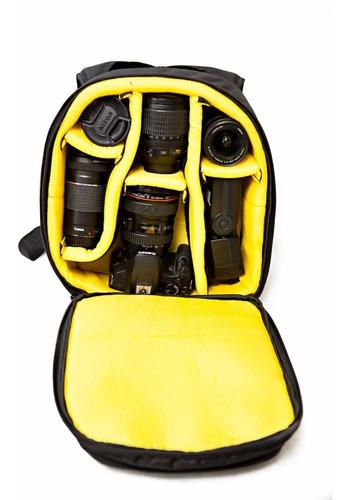 mochila profissional crazy zoomy zm100 p/ camera e acessorio