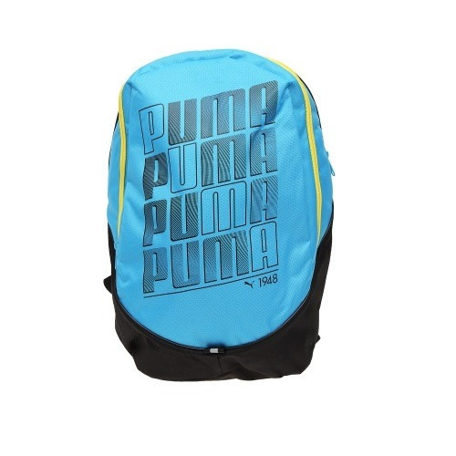 mochila puma backpack celeste