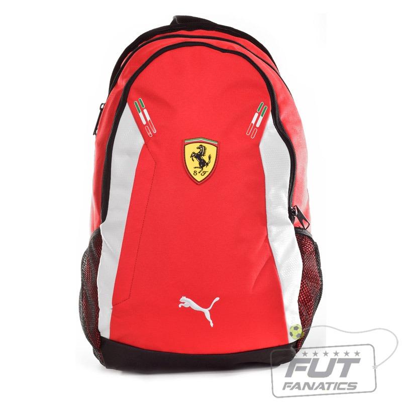 de09c8a42 Mochila Puma Ferrari Backpack Vermelha - Futfanatics - R$ 127,90 em ...