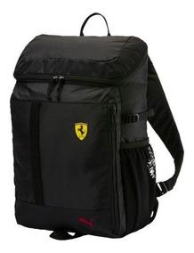 límpido a la vista estilo de moda última tecnología Mochila Puma Ferrari Negro Laptop 075151-02 Look Trendy