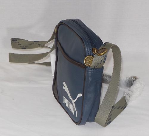 mochila puma mini de hombro azul nueva envio gratis maa