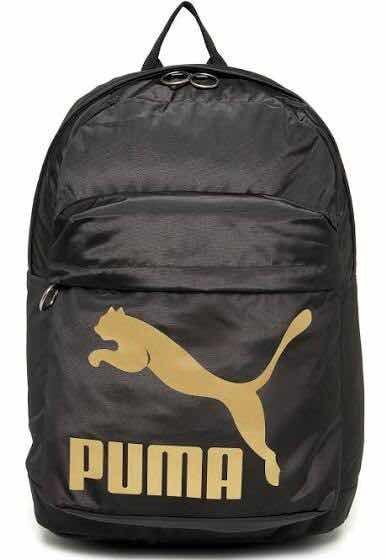 Mochila Puma Originals Backpack Preta - R  169 00da0f766d460