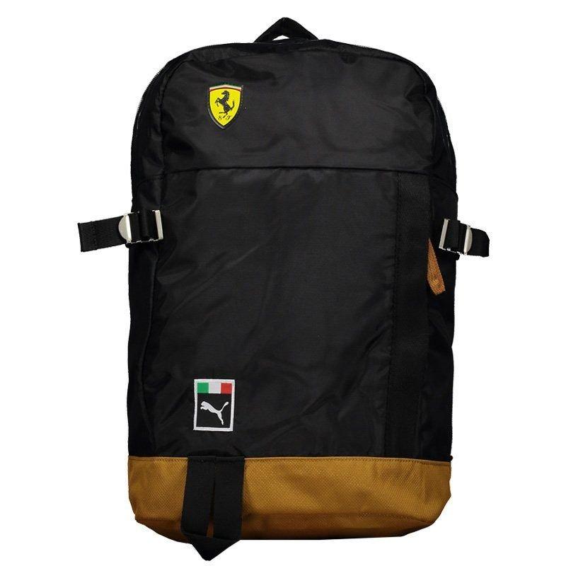 70a56ef46 Mochila Puma Scuderia Ferrari Fanwear Preta E Marrom - R$ 269,90 em ...